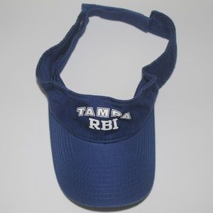 Tampa RBI Blue Visor Tampa Bay Rays Youth Outreach